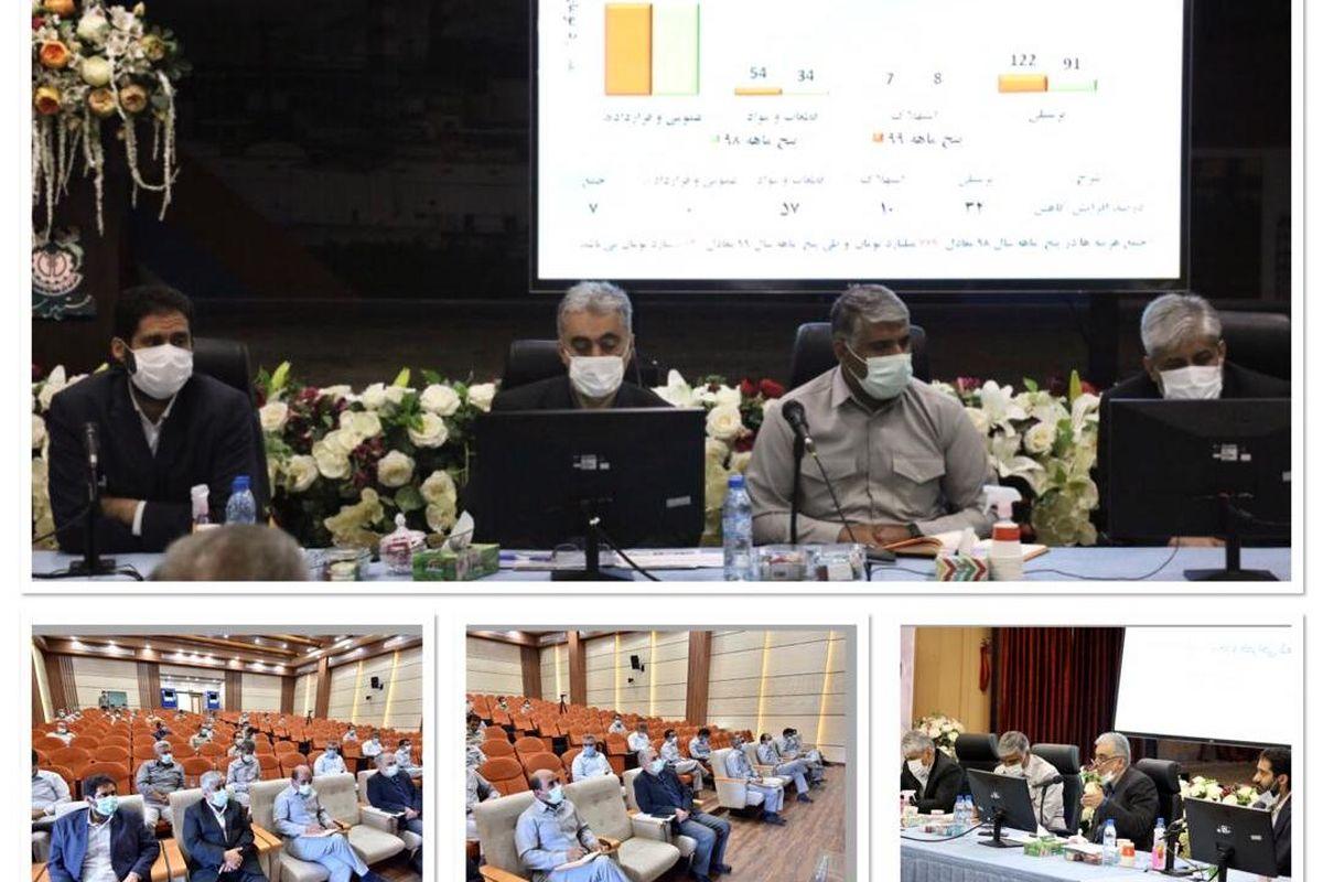 جلسه تولید مجتمع مس سرچشمه و شهربابک برگزار شد