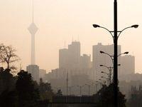 هوای تهران در ساعات گرم برای حساسها ناسالم میشود