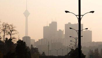 بهبود کیفیت هوای تهران از بعد از ظهر فردا