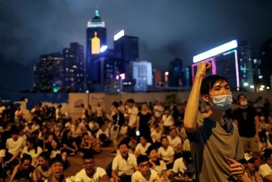 تظاهرات علیه قانون استرداد