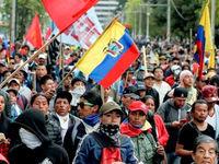 ناآرامی در اکوادور تولید روزانه ۹۰۰هزار بشکه نفت را متوقف کرد
