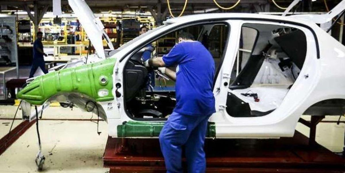 ۱۳.۹ درصد؛ افزایش تولید خودرو