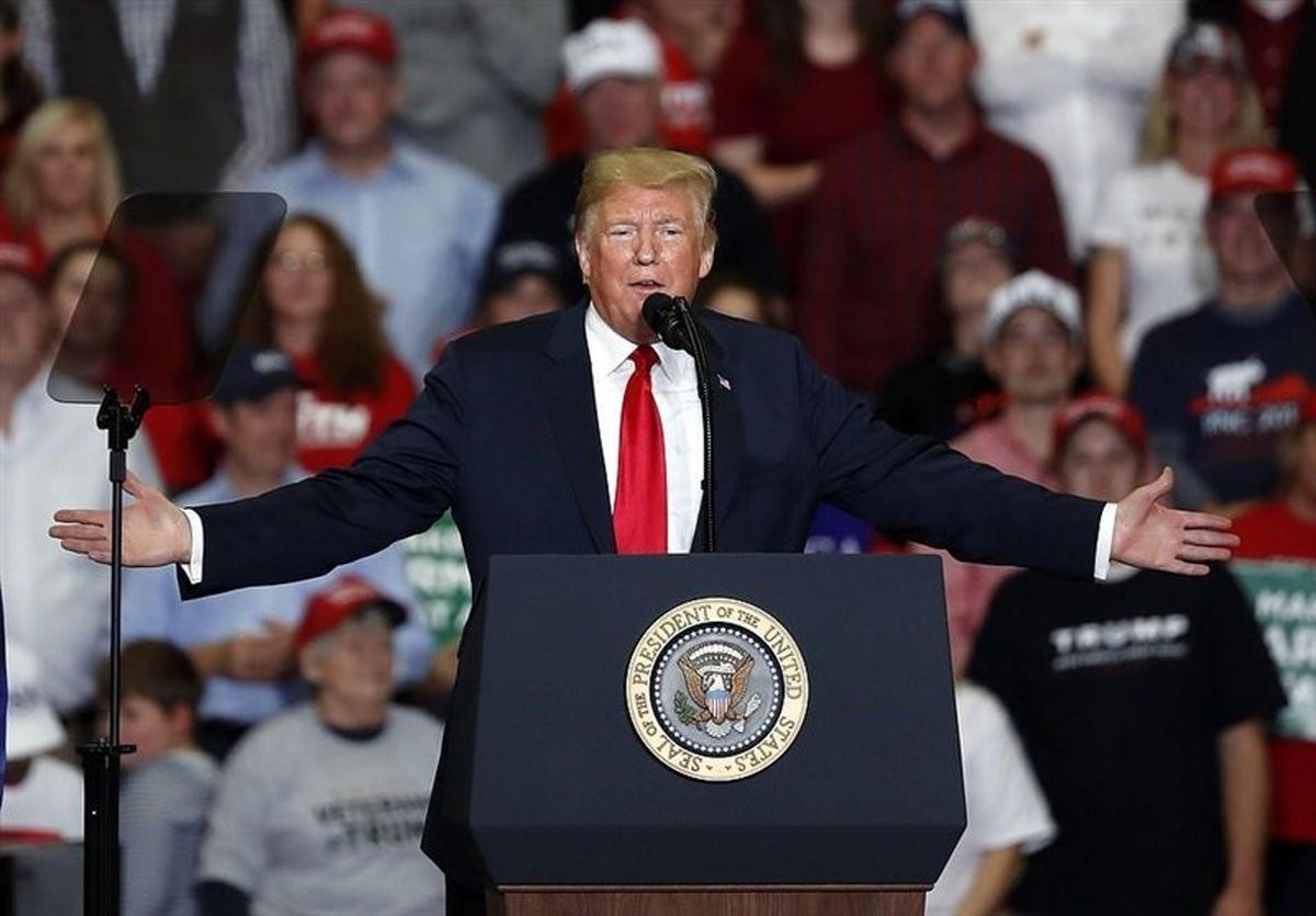 کنفرانس خبری دونالد ترامپ