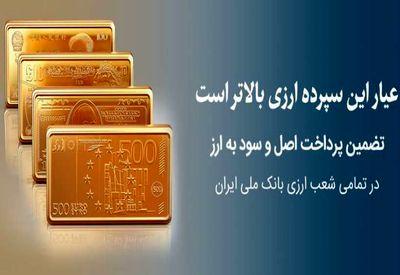 شرایط سپردهگذاری ارزی در بانک ملی ایران اعلام شد
