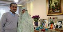 عکسهای یادگاری با احمدی نژاد در دبی! +فیلم