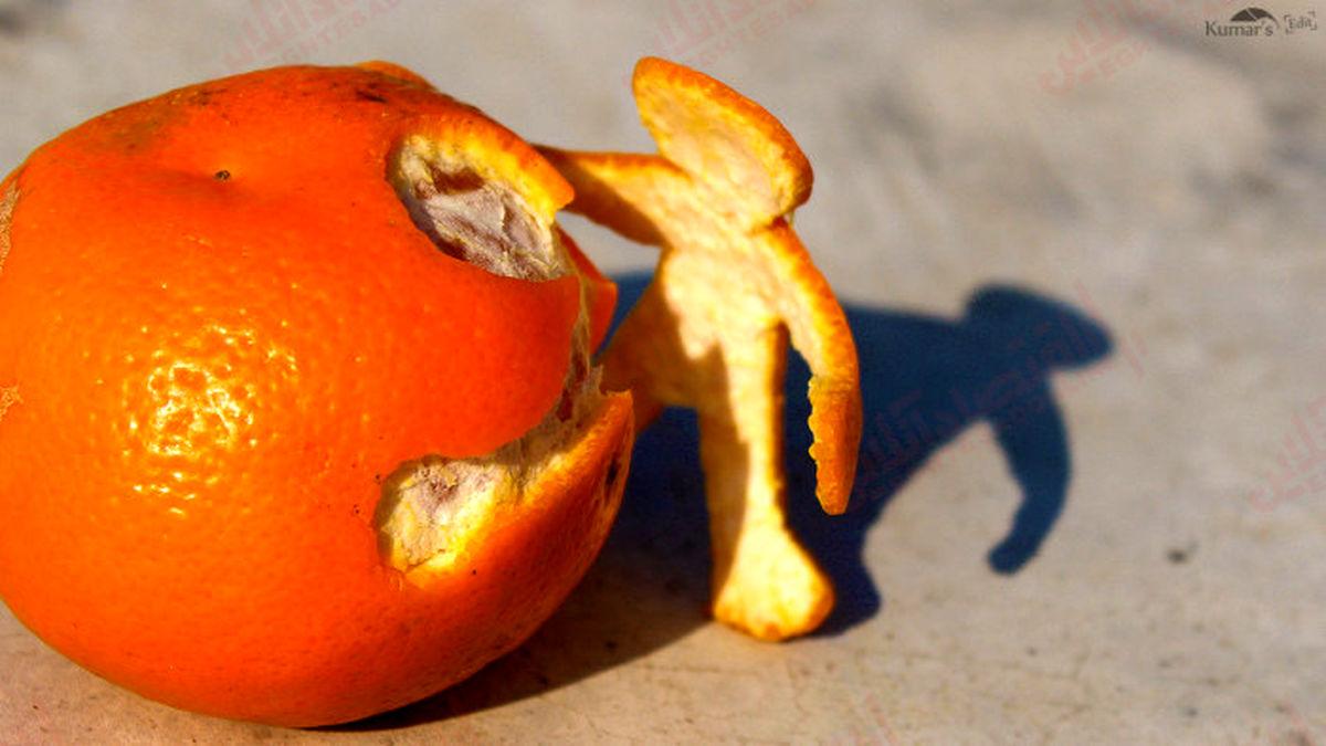 ۱۰ خاصیت پوست پرتقال!