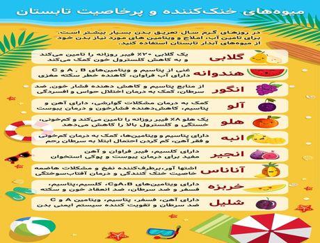 میوههای تابستانی چه خاصیتی دارند؟