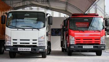 رونمایی از دو محصول جدید گروه بهمن در نمایشگاه حمل نقل +تصاویر