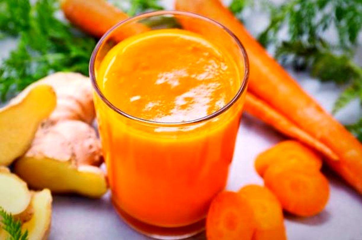 16دلیل مهم برای آنکه آب هویج را با زنجبیل مخلوط کنید