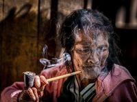 چهره پیرزن میانماری در عکس روز نشنال جئوگرافیک