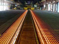 تولید ریل ذوب آهن اصفهان آغاز شد
