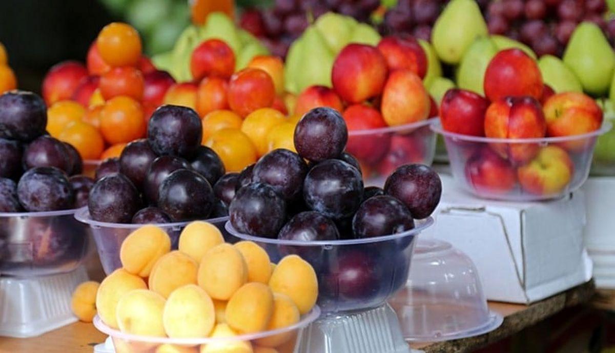 قیمت عمده فروشی انواع میوه و صیفی