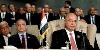 رئیسجمهور عراق، پیام ایران را به عربستان سعودی منتقل کرد