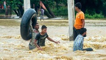 شمار جان باختگان سیل در هند به بیش از ۲۰۰نفر رسید