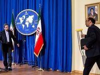 پای شکسته سخنگوی وزارت امور خارجه +تصاویر