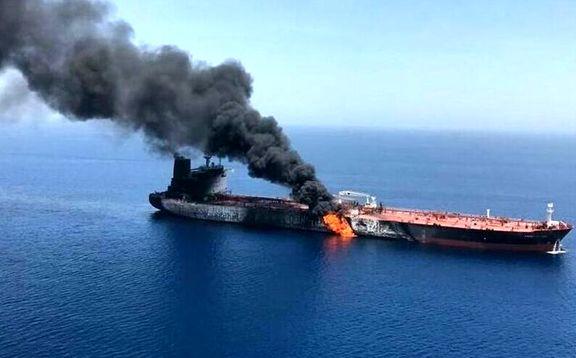 انفجار در بدنه نفتکش ایرانی در دریای سرخ/ نشت نفت کشتی متوقف شد