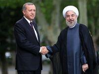 استقبال رسمی اردوغان از روحانی +فیلم