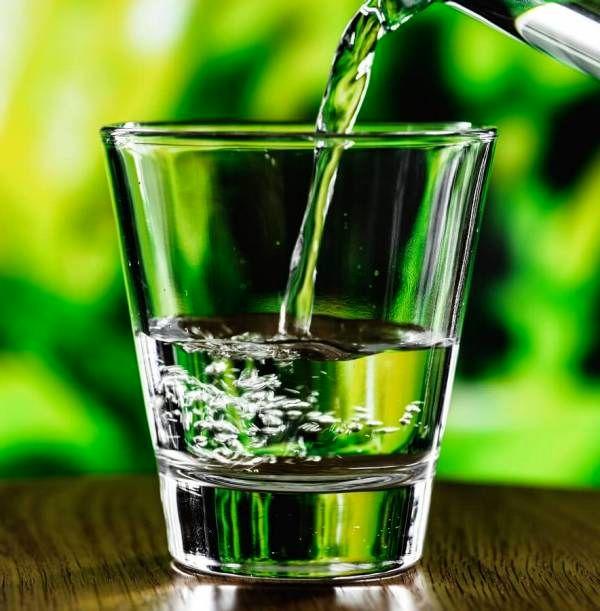 آب برای لاغری شکم
