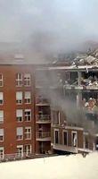 انفجاری مهیب داخل کلیسایی در مادرید اسپانیا