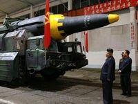 شوک بزرگ به تولید موشک  سلاح هستهای کره شمالی