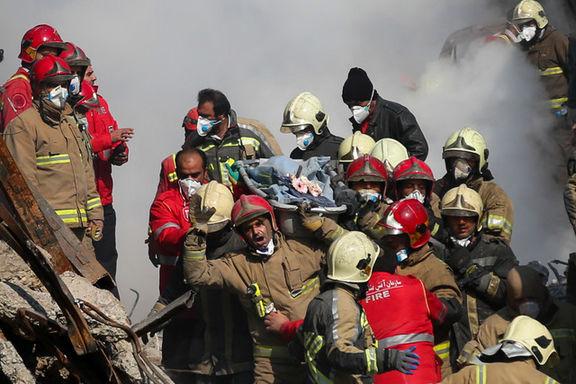 تعیین هویت ۴ آتشنشانان دیگر حادثه پلاسکو
