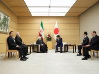 دیدار و گفتوگوی رییس جمهور با نخست وزیر ژاپن
