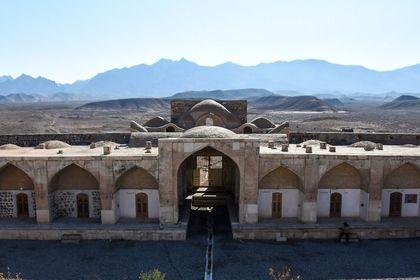 کاروانسرای قصر بهرام +تصاویر