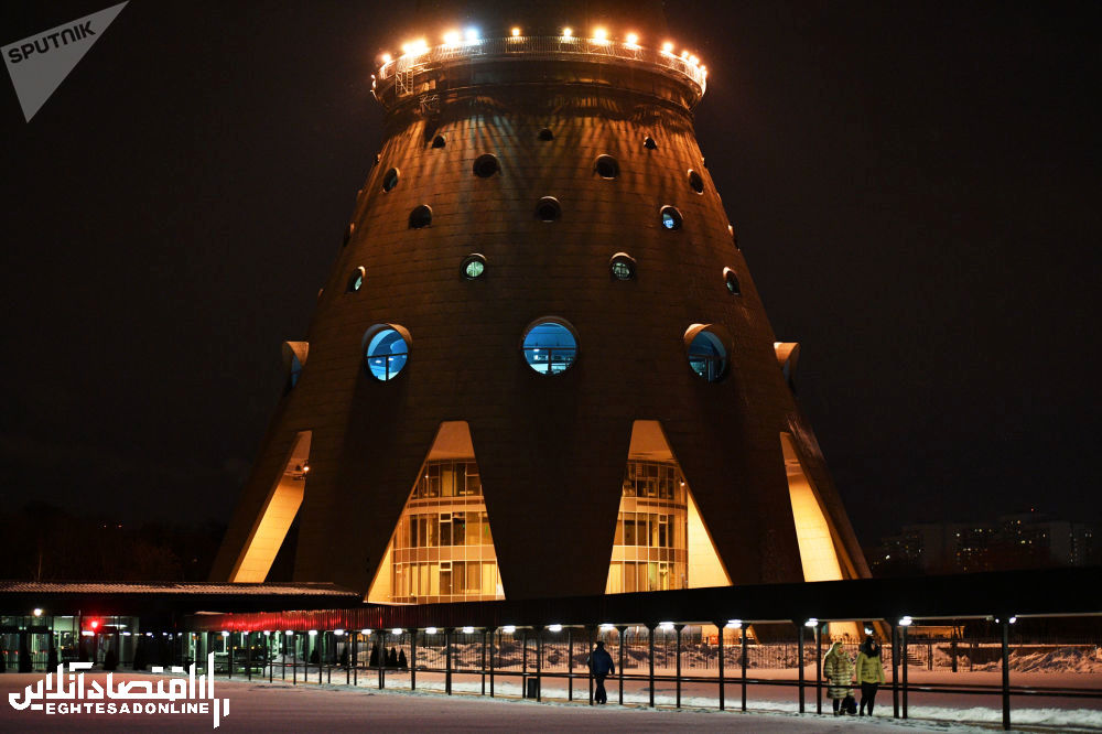 برج تلویزیون استانکینو مسکو
