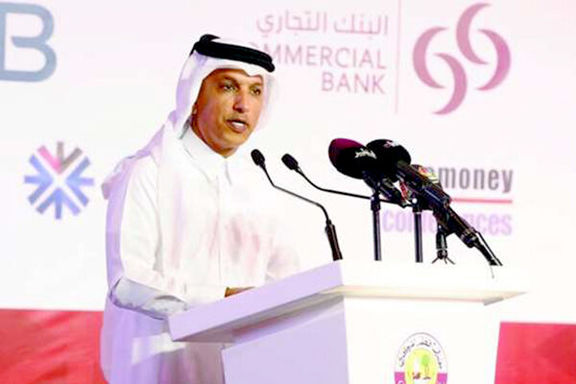 وزیر مالی قطر: تجارت با همه ارزها را قبول میکنیم