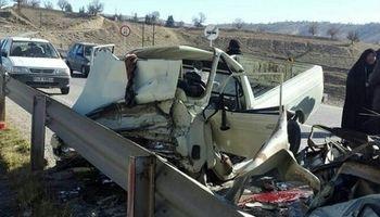 تصادف زنجیرهای مرگبار در لارستان فارس