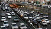 ترافیک نیمهسنگین در ورودیهای تهران