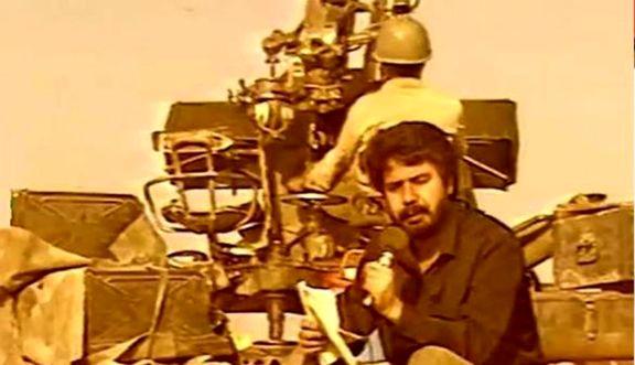 گزارش بهرام شفیع از جبهه +فیلم