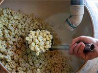 کارگاه پخت نقل و حلوای ارومیه +تصاویر