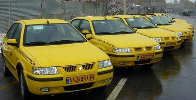 ۱۰ درصد؛ افزایش نرخ کرایه تاکسی در سال ۹۶