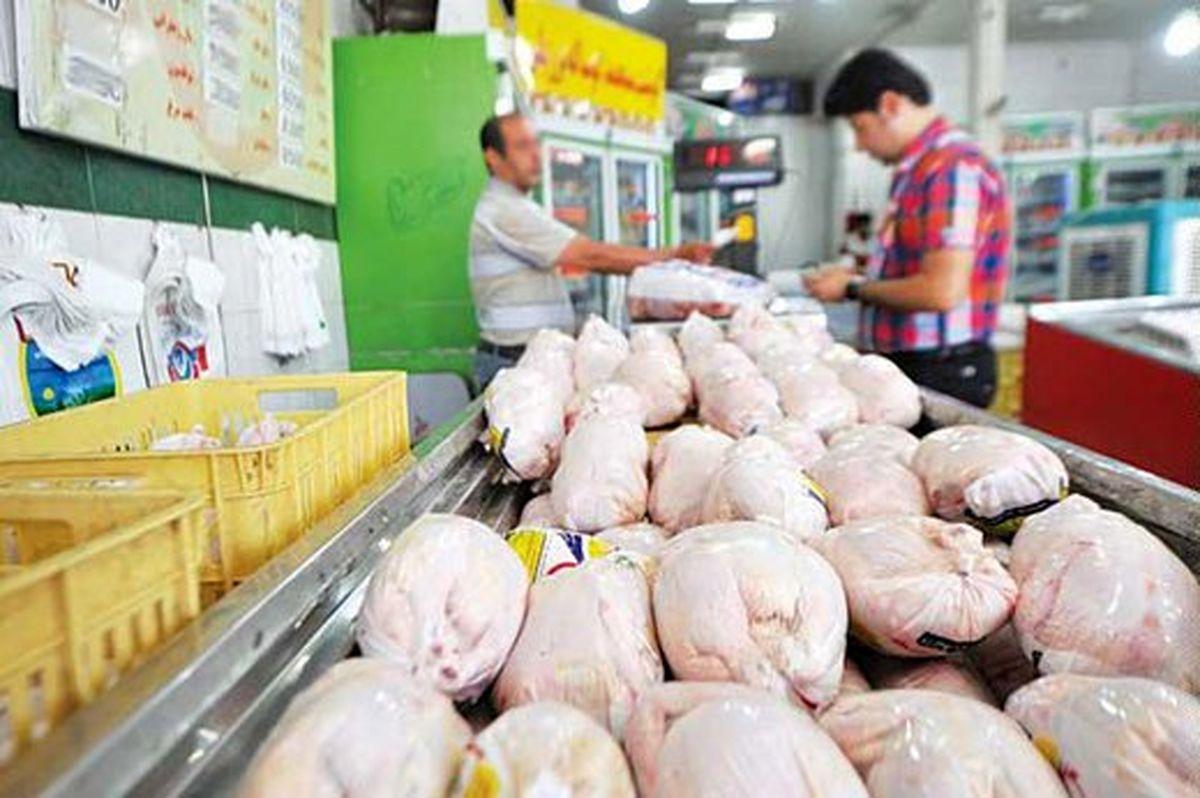عرضه هفت هزار تن گوشت مرغ