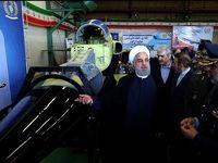 روحانی در مراسم روز صنعت دفاعی+عکس