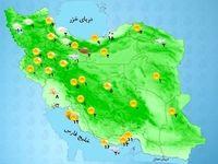 آسمان تهران امروز صاف پیشبینی میشود
