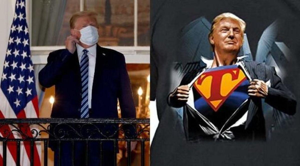 لحظهای که ترامپ احساس کرد سوپرمن شده است!