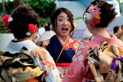 جشن ویژه برای دختران ژاپنی +عکس