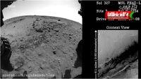 تایم لپس ۵ساله ناسا از مریخ +فیلم