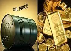 افت شدید قیمت نفت طلا را گران کرد