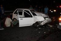 برخورد سه خودرو در اهواز یک کشته برجا گذاشت
