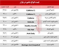 قیمت انواع شامپو ایرانی و خارجی +جدول