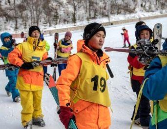 پیست اسکی لاکچری کره شمالی
