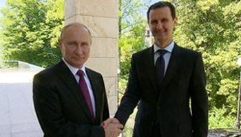اظهارات پوتین شامل نیروهای ایران و روسیه نمیشود