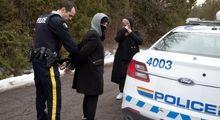 فرار پناهجویان از مرز آمریکا به کانادا +تصاویر