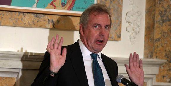 سفیر انگلیس در آمریکا استعفا کرد