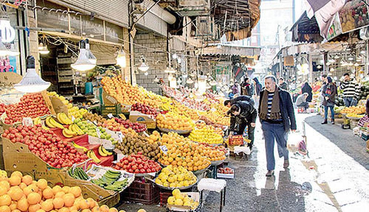بینظمی در بازار میوه