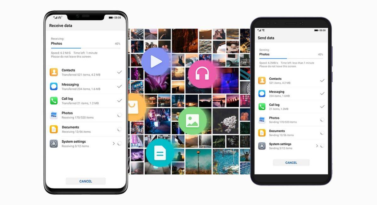 سریعترین روش انتقال اطلاعات به گوشی جدید هوآوی