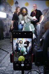 کنگره جهانی موبایل،  Wiko mobile phone booth